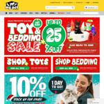 10% Off Prescription Vet Dog/Cat Food, Up to 25% Off Beds & Toys + Free Delivery over $49 @ My Pet Warehouse