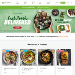 12 Meals $72.40 Delivered ($6.03 Per Meal) from Youfoodz