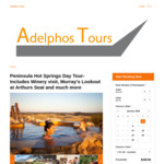[VIC] Peninsula Hot Springs Day Tour- Winery Visit, Murray's Lookout at Arthurs Seat + More $135.20 (20% off) @ Adelphos Tours