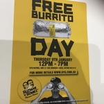 [WA] Free Burrito with GYG on Jan 9 (12pm-7pm) @ Armadale