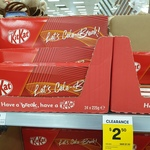 [VIC] Kit Kat 225g (4 Finger Bars) $2.50, Party Mix 409g Tin $2.50, Lindt Teddy Things $1.25 @ Big W (Ringwood)