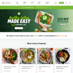 YouFoodz 8 Meals for: $40 (Clean Meals) $48 (Others)