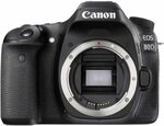 Canon EOS 80D (Body Only) $878.65 Delivered @ Amazon AU