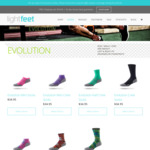 Buy Two Get One Free - 3 Pairs for $69.90 Delivered (Was $34.95 Per Pair) @ Lightfeet Socks