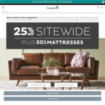 25% off Sitewide @ Freedom Furniture