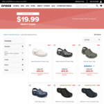 Crocs Clogs $19.99 Delivered @ Crocs