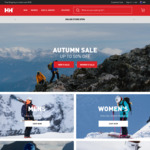 Up to 50% off Selected Items @ Helly Hansen | 50% off Sale + Standard Sale Stacks with 10% off Code | Free Shipping > $100