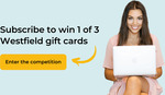 Win 1 of 3 Westfield Gift Cards from FlareHR