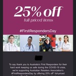 [First Responders] 25% off Full Price Items in Store @ Michael Hill
