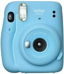 Fujifilm Instax Mini 11 Automatic Flash Photo Camera Sky Blue $89.65 Delivered @ Amazon AU