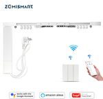 Electric Curtain with Kinetic Switch Tuya Smart Life Alexa Google Home Control A$190 Delivered @ Zemismart