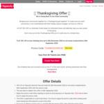 30% off Service Fees (Per Ticket) for Event Creators via Yapsody