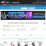15% off All Shocks, Steering Dampers, Lift Kits, Cozza & Cozza 4X4 Products @ Online Auto Parts