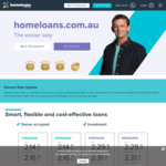 Home Loan Interest Rate 2.14% Variable - NO Monthly, Annual, Est. Fees + Offset + Redraw + Unlimited Extra Payments @ HomeLoans