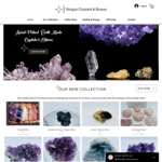 25% off Store Wide Sale - Stones & Crystals + Free Shipping - First 20 Customers @ Unique Crystals & Stones