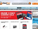 Black Friday SanDisk Sale at Dealfox 16GB MicroSD for $16.95 Delivered