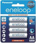 Panasonic Eneloop Batteries AA / AAA 4pk $14.99 + Delivery ($0 with Prime/ $39 Spend) @ Amazon AU