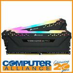Corsair Vengeance RGB PRO 32GB (2x16GB) DDR4 3200MHz C16 RAM $191.20 Delivered @ Computer Alliance on eBay