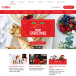 Coles Online $10 off $100 Minimum Spend (Click and Collect Only)