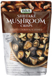 DJ&A Shitake Mushroom Crisps 3 x 150g $6.99 ($1.56/100g) Delivered @ Costco (Membership Required)