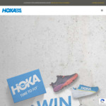 Win $2,500 Worth of Apparel & Shoes from Hoka One One