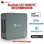 Beelink U57 Mini PC i5-5257U Dual Core, 8GB / 256GB WI-FI US$295 / A$413.65 Delivered @ Wonder Digital Tribe Store AliExpress