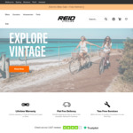 $20 off Coupon & Free Light, Lock and Pump (Expired) on All Bikes @ Reid Cycles