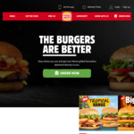 2 Rebel Whopper w/Cheese or 2 Big Jack for $10, 2 Whopper w/Cheese for $9.95 @ Hungry Jack's (App Required)