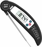 Digital Meat Thermometer, Instant Read Cooking Thermometer $11.19 + Delivery @ AMIR&ORIA Direct via Amazon AU