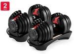 Fortis 24kg Smart Adjustable Dumbbells 2 Pack $211 Delivered @ Kogan