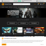 [PC] Steam/UPlay-Platinum Build Your Own Bundle (incl. Division, South Park etc.)-$14.99/$22.99/$28.99) (3/5/7 games)-Fanatical