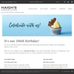 [NSW, ACT, VIC, SA] Free Chocolate Frog @ Haigh's Chocolates (1 May, 2021)