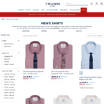 Men's Shirt from $22 + $20 Delivery @ T. M.  Lewin