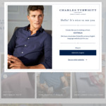 3 Shirts for $99 + Delivery @ Charles Tyrwhitt
