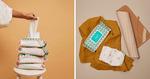 Joonya Eco Baby Wipes Subscription - $90/24pk Carton Delivered (80 Wipes/Pk, Save $20) @ Joonya Eco Wipes