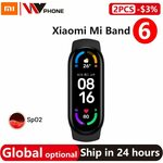 Xiaomi Mi Band 6 Fitness Tracker US$37.12 (~A$48.02) Delivered @ hongkong willvast Store AliExpress