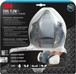 [Prime] 3M Safety Professional Paint Respirator Medium 7512PA1 $65.48 Delivered (Was $109.14) @ Amazon AU