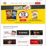 Dr. Oetker Ristorante Pizza $3.95 @ IGA Supermarkets
