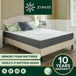 $100 off Zinus Memory Foam Mattress: Q $299 D $269 K $349 + Free Delivery Most Metro @ Zinus eBay