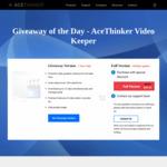 Free AceThinker Video Keeper 1 Year Giveaway Version @ ACETHINKER