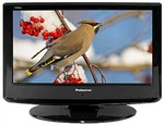 "Palsonic 23.6"" LCD 1080P TV with Built in Blu-Ray Player $217"