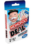 Monopoly Deal Card Game $5, Monopoly Bid $5 + Delivery ($0 with $49 Spend/ C&C/ in-Store) @ Myer