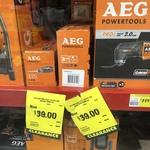 AEG Multi Tool Attachments OMNI-JS and OMNI-RH $39 Each (Was $99) @ Bunnings