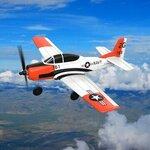 Eachine Mini T-28 Trojan EPP 400mm Wingspan 2.4g 6-Axis Gyro RC Airplane Trainer $123.90 (Remove Insurance) at Banggood
