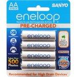 2x Packs of 4 AA Sanyo Eneloop Batteries at DSE $19.99 Plus Postage