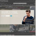 TOPMAN Free Delivery Worldwide for 48hours Only*