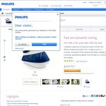 Philips GC7520 Steam Iron $169 (or $159 with Voucher) @ Target