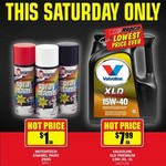 [Valvoline XLD Premium 15W-40 4L $7.99] [Motortech Enamel Spray Paint $1/Can]@Repco Sat 30th Nov