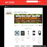 Audio Invasion Boxing Day Blitz Sale up to 15% off!
