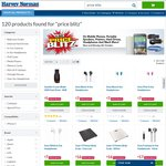 Sandisk 8GB USB $5, Sony Headphones $7, Genuine iPad Covers $22.50, Scales $16 @ Harvey Norman